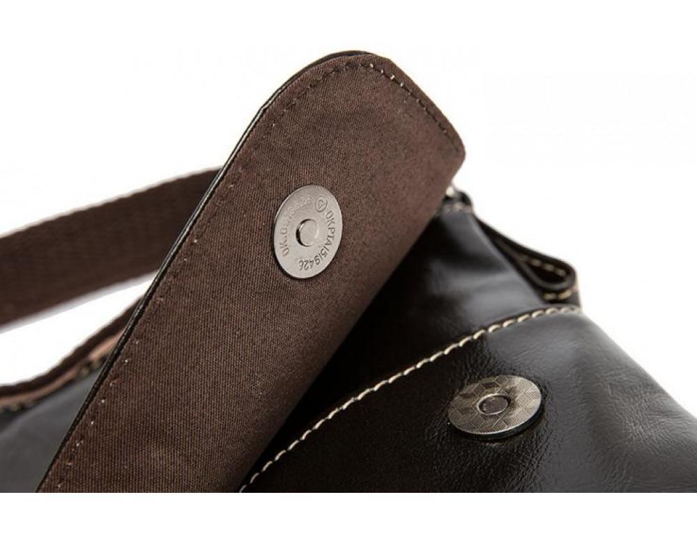 Мужская кожаная сумка через плечо Bexhill Bx8007C - Фото № 7
