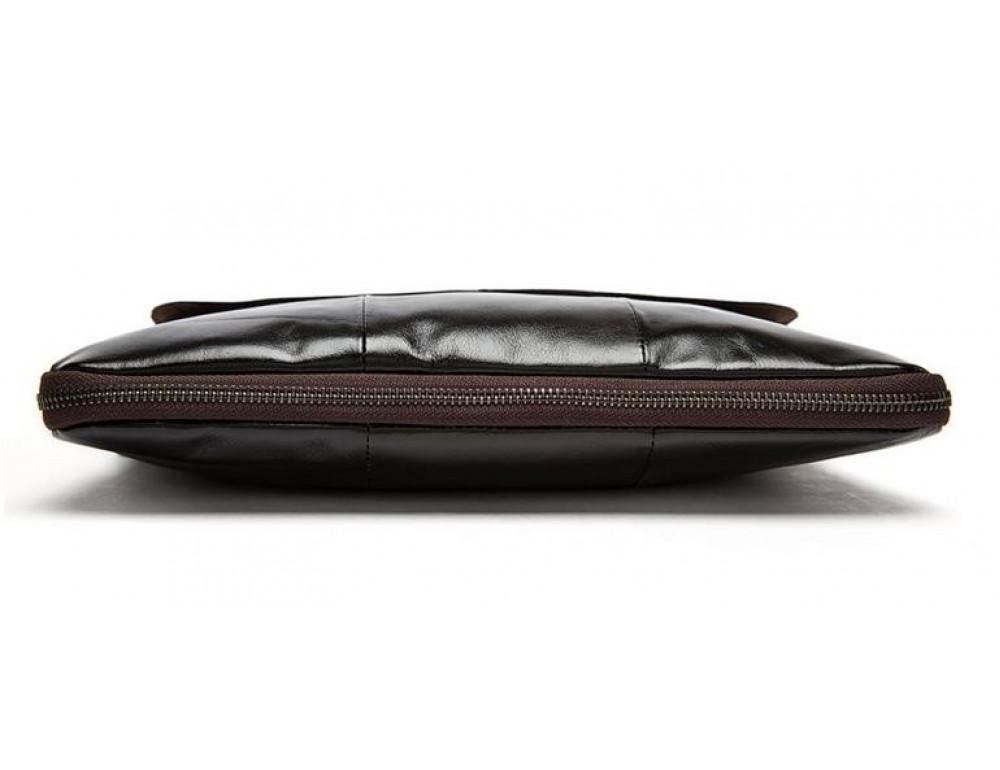 Мужская кожаная сумка через плечо Bexhill Bx8007C - Фото № 6