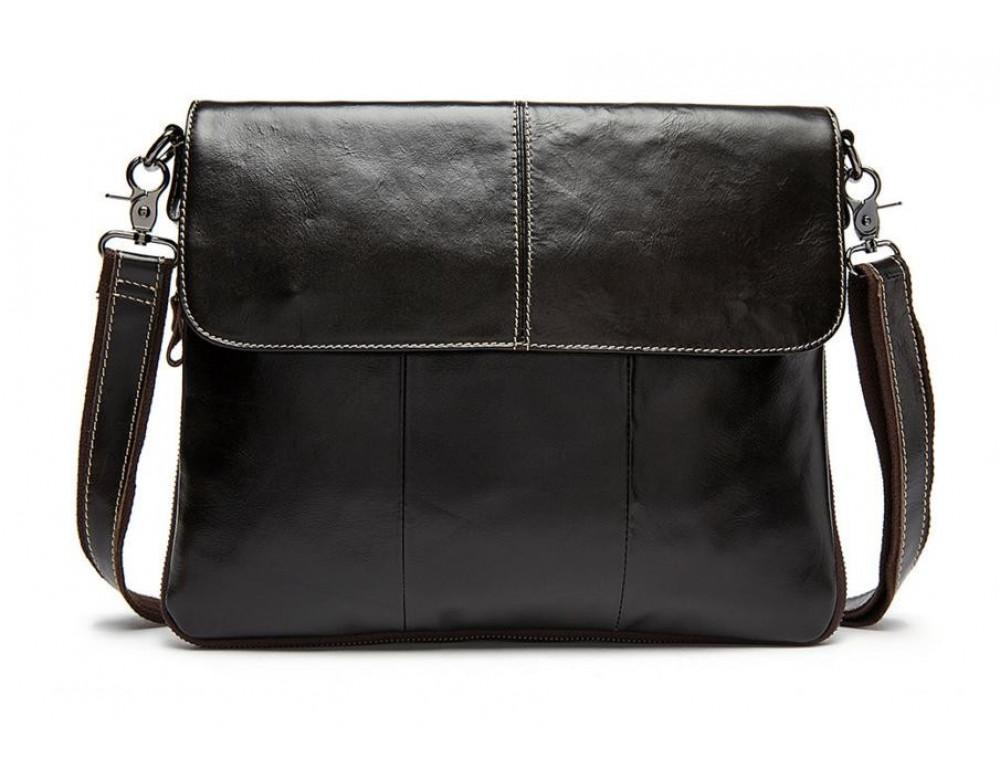 Мужская кожаная сумка через плечо Bexhill Bx8007C - Фото № 3