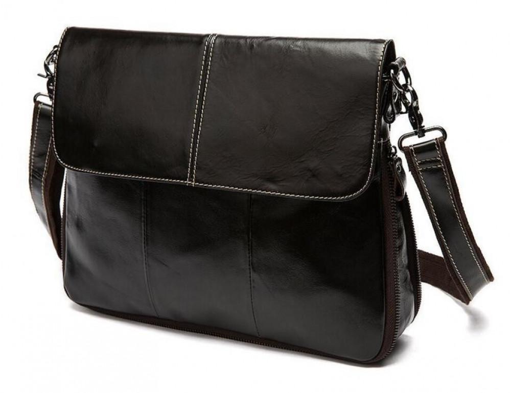 Мужская кожаная сумка через плечо Bexhill Bx8007C - Фото № 9