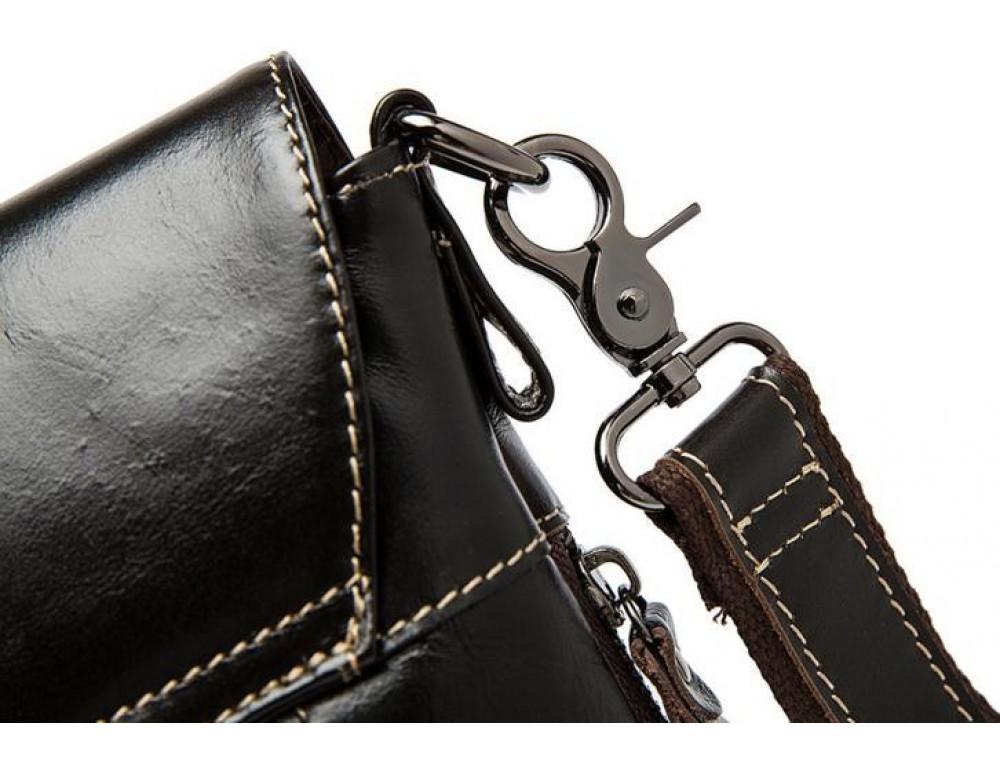 Мужская кожаная сумка через плечо Bexhill Bx8007C - Фото № 8