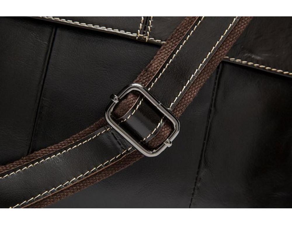 Мужская кожаная сумка через плечо Bexhill Bx8007C - Фото № 12