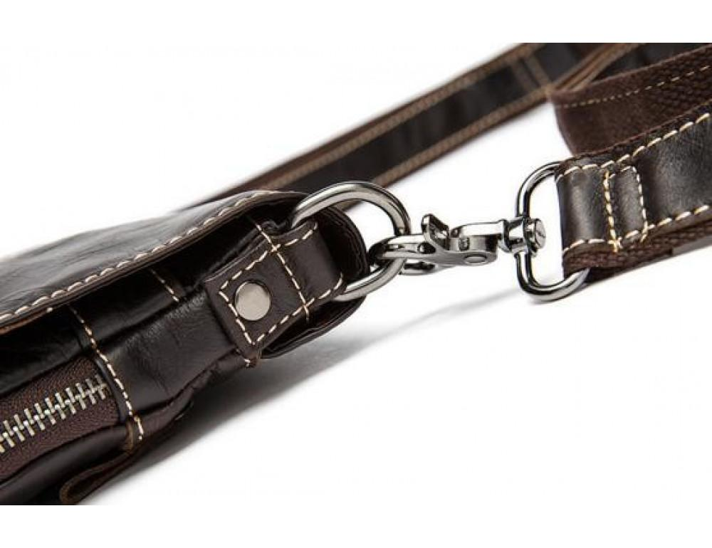 Мужская кожаная сумка через плечо Bexhill Bx8006B - Фото № 6