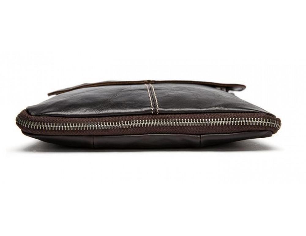 Мужская кожаная сумка через плечо Bexhill Bx8006B - Фото № 5