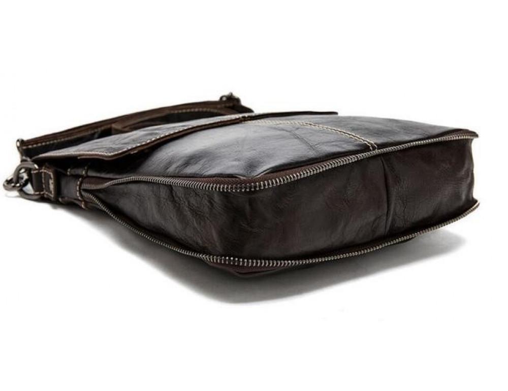 Мужская кожаная сумка через плечо Bexhill Bx8006B - Фото № 2