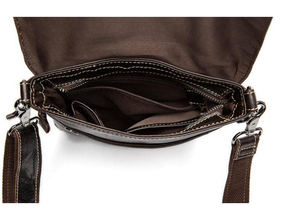 Мужская кожаная сумка через плечо Bexhill Bx8006B - Фото № 3