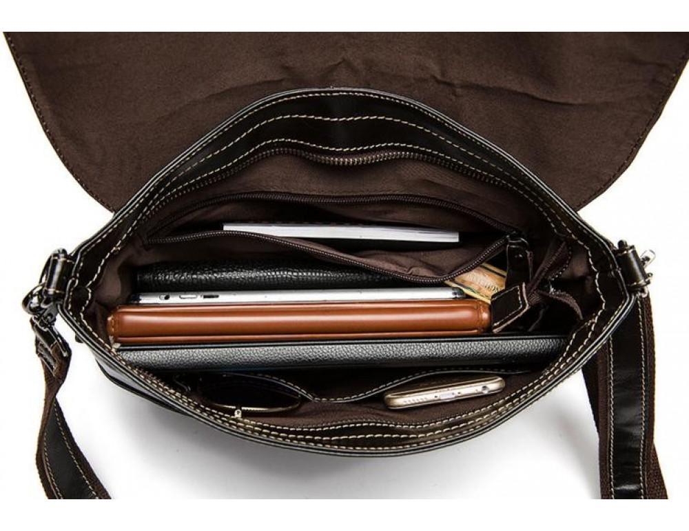Чоловіча шкіряна сумка-месенджер Bexhill Bx8007A - Фотографія № 7