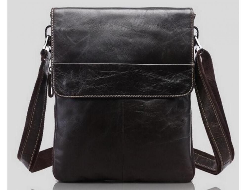 Мужская кожаная сумка-мессенджер Bexhill Bx8008B