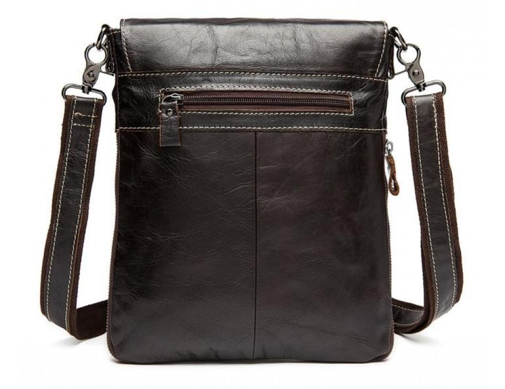 Мужская кожаная сумка-мессенджер Bexhill Bx8008C - Фото № 2