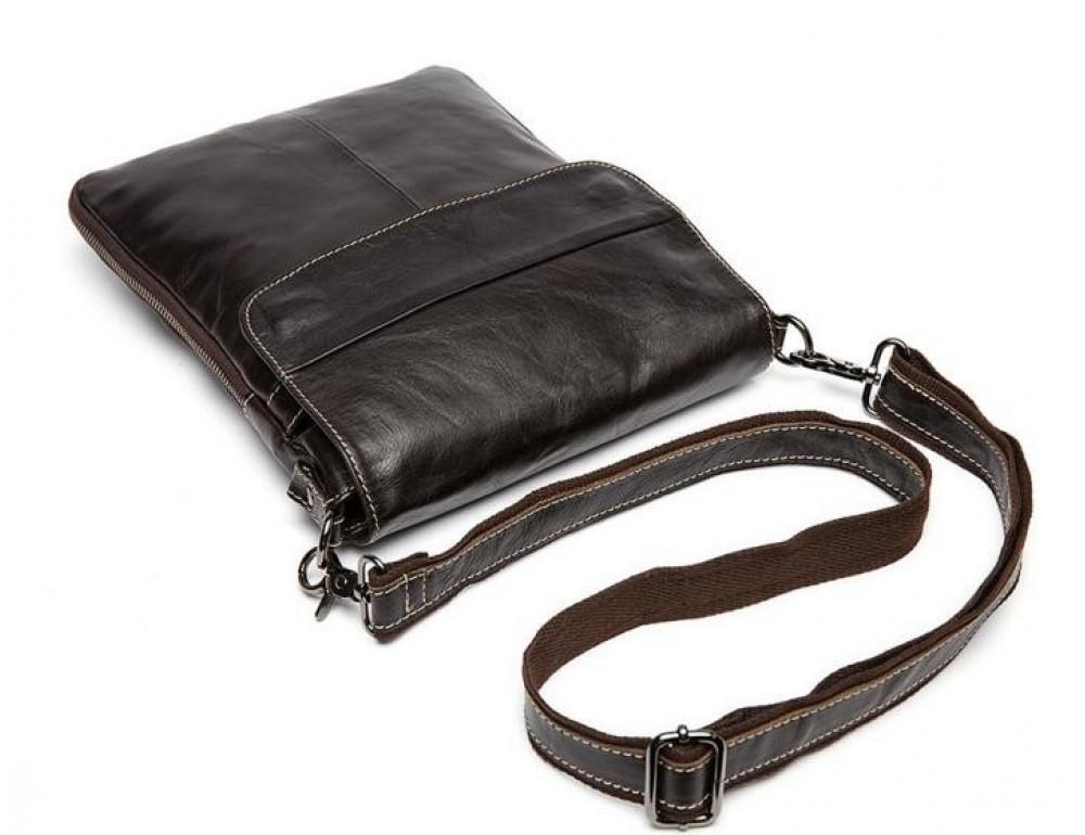 Мужская кожаная сумка-мессенджер Bexhill Bx8008C - Фото № 5