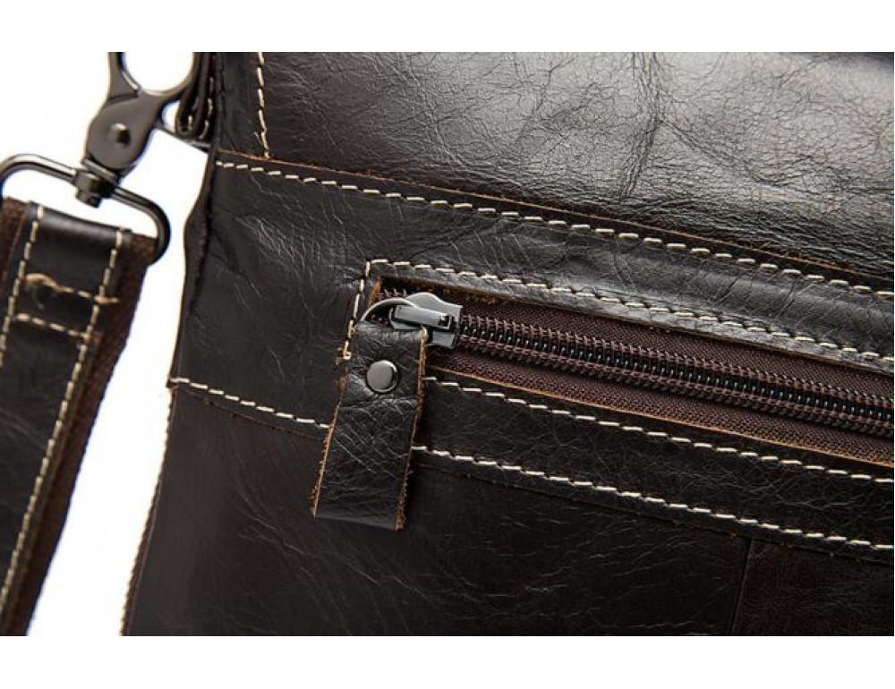 Мужская кожаная сумка-мессенджер Bexhill Bx8008C - Фото № 11