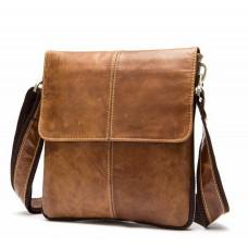Мужская кожаная сумка-мессенджер Bexhill Bx8006C