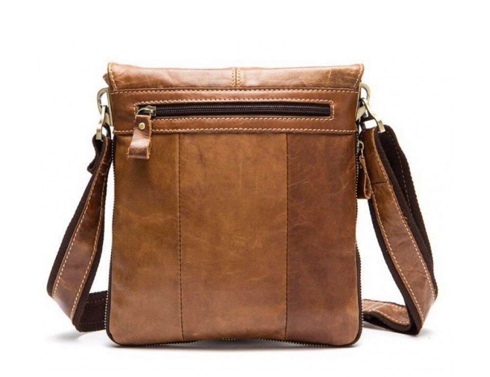Мужская кожаная сумка-мессенджер Bexhill Bx8006C - Фото № 2