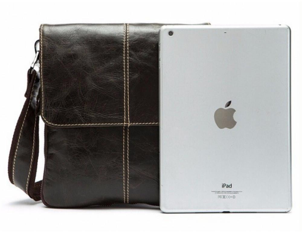 Мужская кожаная сумка-мессенджер Bexhill Bx8006C - Фото № 5
