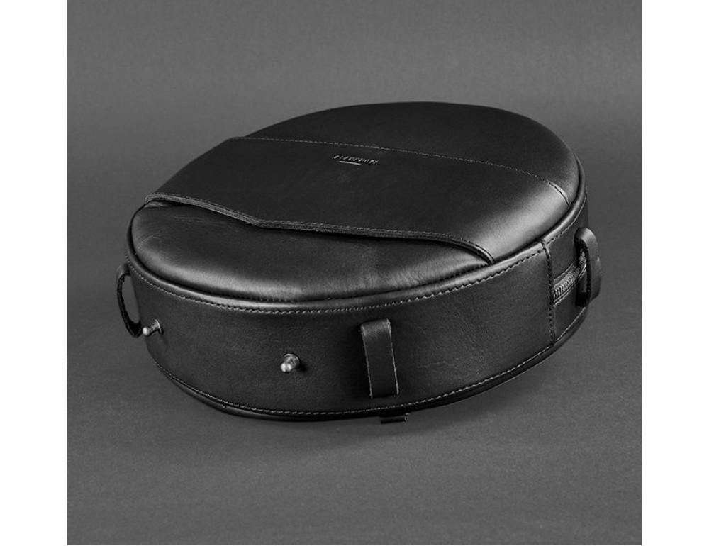 Круглая сумка-рюкзак maxi blanknote BN-BAG-30-g графит - Фото № 7