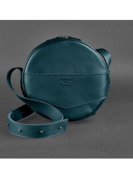 Круглая сумка-рюкзак maxi blanknote BN-BAG-30-malachite зелёный