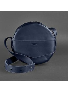 Круглая сумка-рюкзак maxi blanknote BN-BAG-30-navy-blue тёмно-синяя