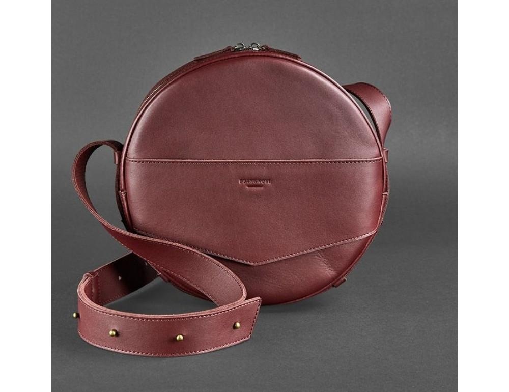 Круглая сумка-рюкзак maxi blanknote BN-BAG-30-vin виноград - Фото № 1