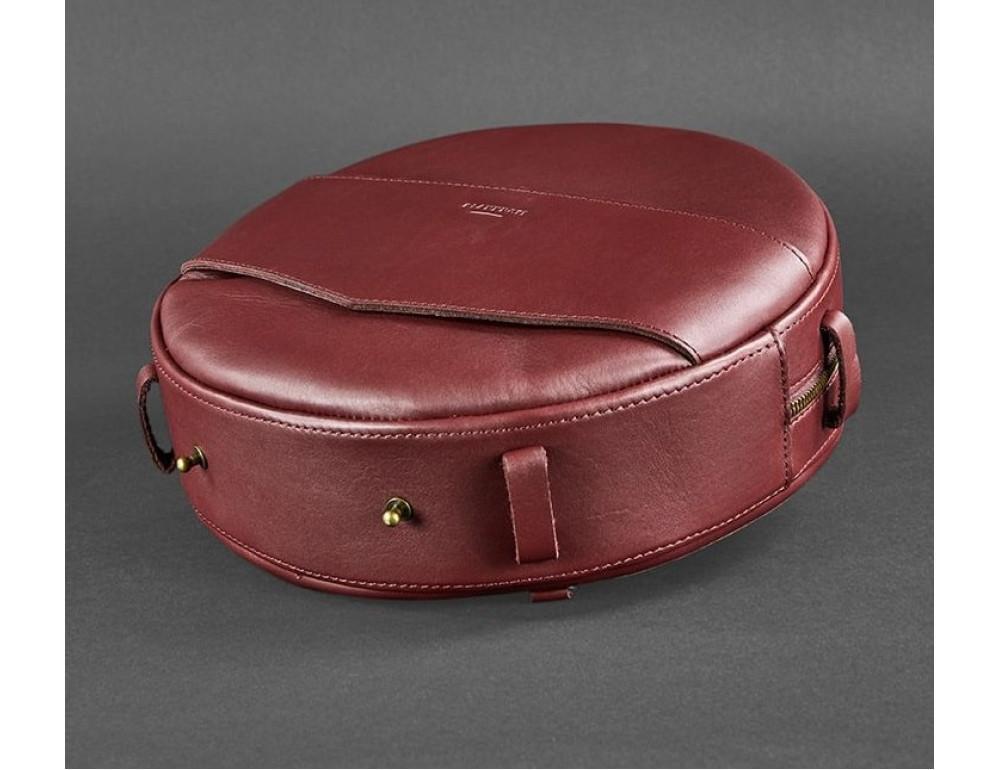 Круглая сумка-рюкзак maxi blanknote BN-BAG-30-vin виноград - Фото № 6