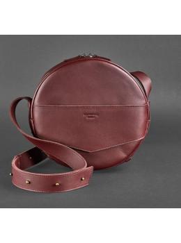 Круглая сумка-рюкзак maxi blanknote BN-BAG-30-vin виноград