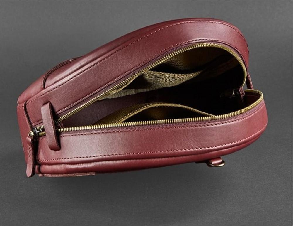 Круглая сумка-рюкзак maxi blanknote BN-BAG-30-vin виноград - Фото № 9