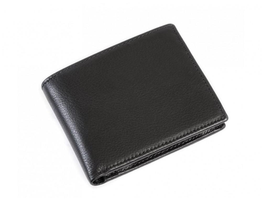 Шкіряне портмоне TIDING BAG 8063A чорне