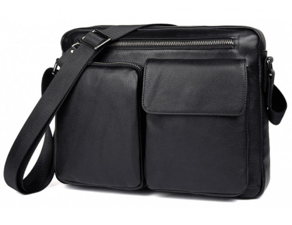 Чоловіча сумка планшет TIDING BAG 9812A чорний