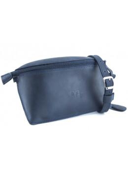 Кожаная поясная сумка Level lv_vinograd_blue_ch синяя