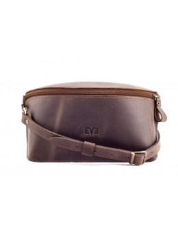 Кожаная поясная сумка Level lv_vinograd_brn_ch коричневая
