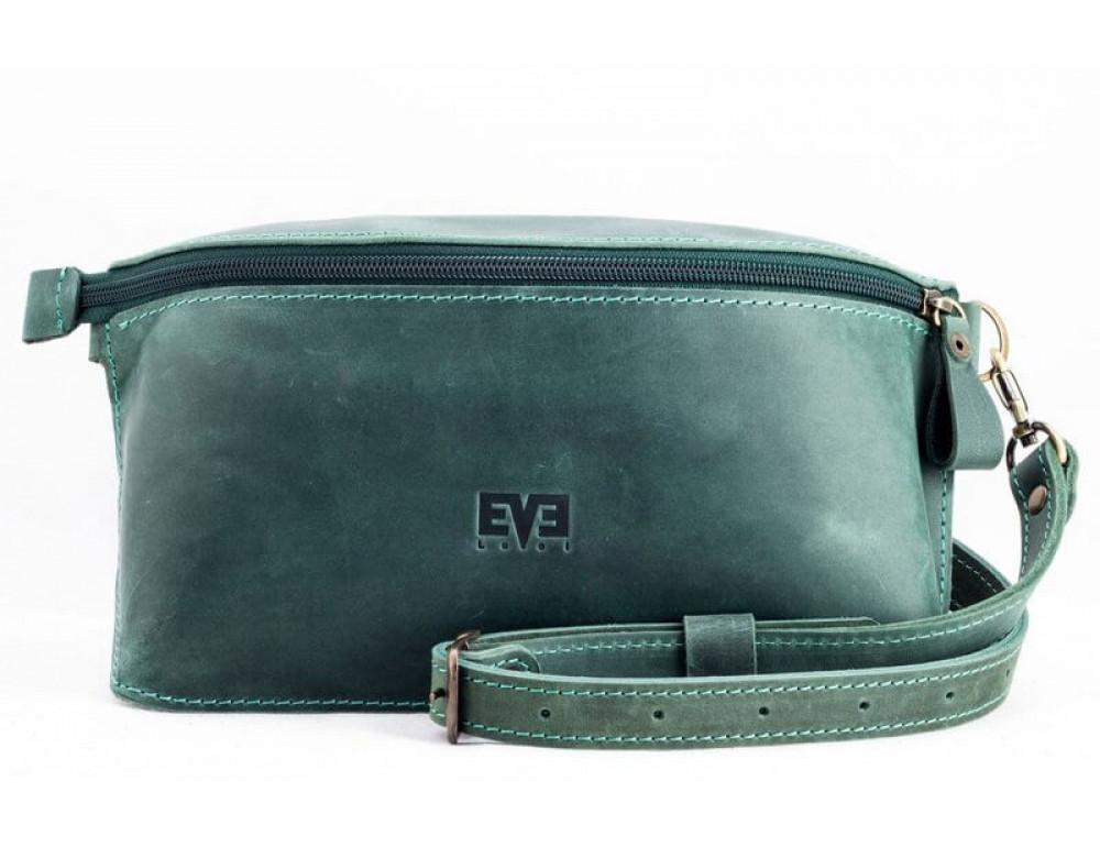 Кожаная поясная сумка lv_vinograd_grn_ch Зеленый
