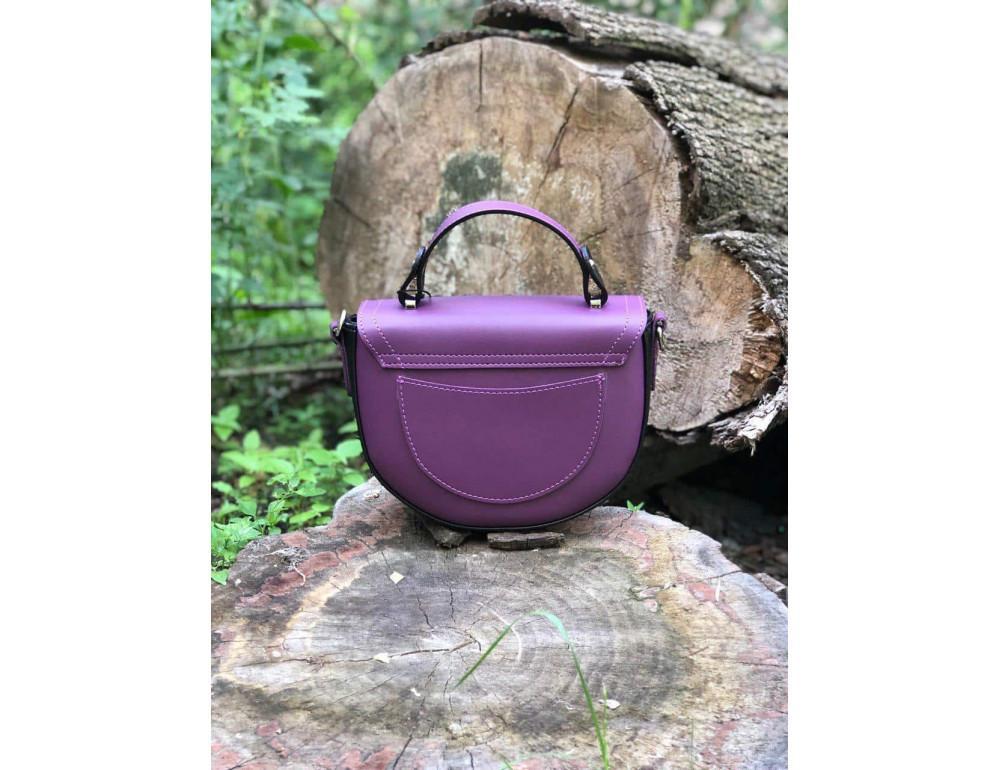 Жіноча сумка через плече B. Elit 0914pu фіолетовий - Фотографія № 3