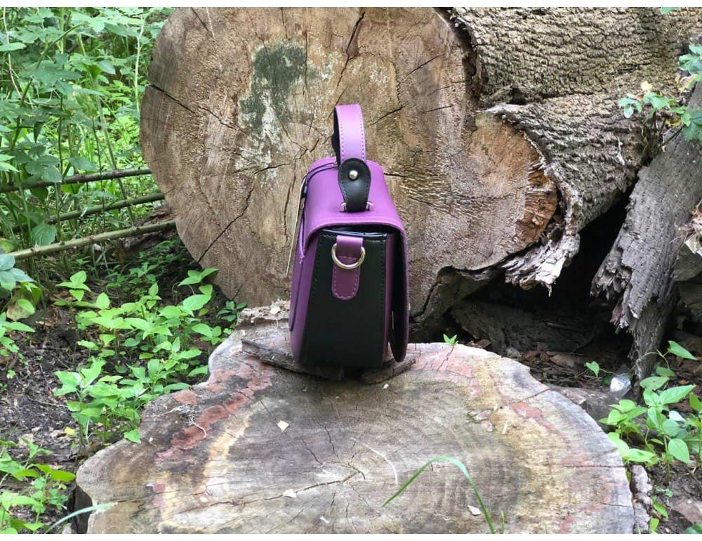Жіноча сумка через плече B. Elit 0914pu фіолетовий - Фотографія № 4