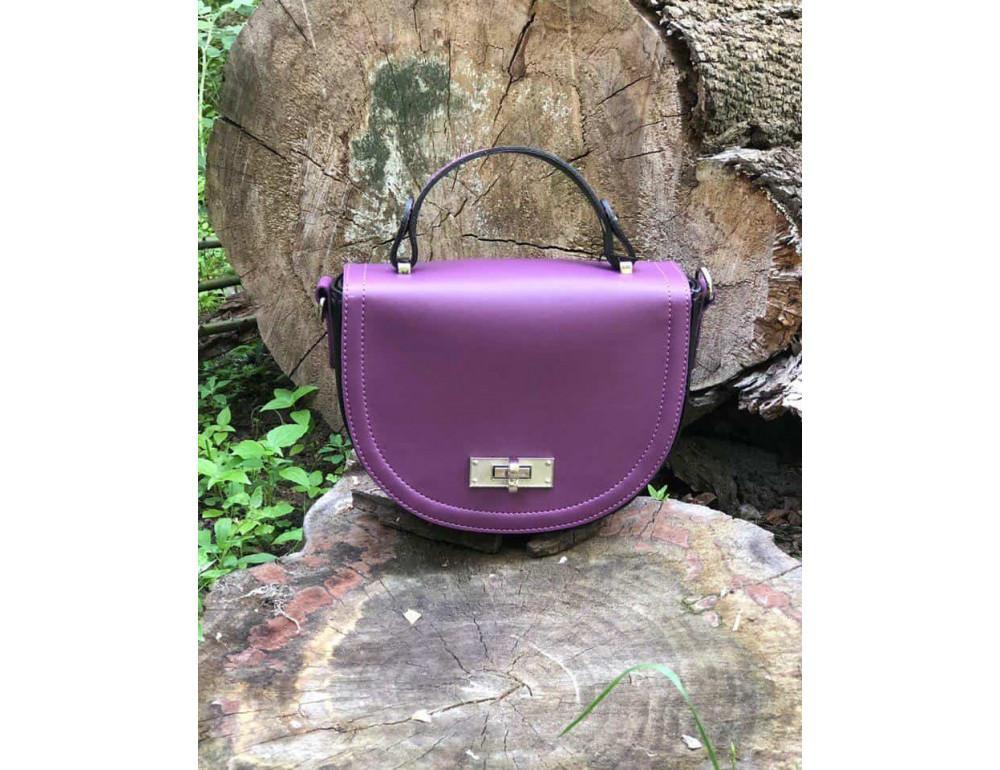 Жіноча сумка через плече B. Elit 0914pu фіолетовий