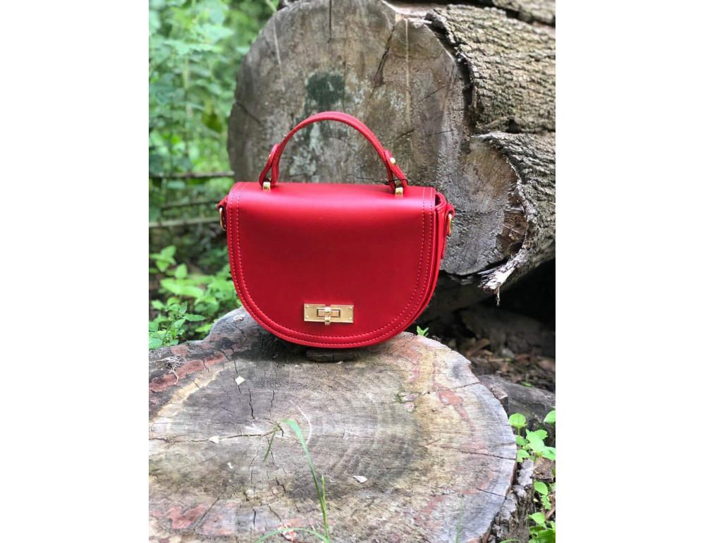 Жіноча сумка через плече B. Elit 0914R червона