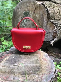 Женская сумка через плечо B. Elit 0914R красная