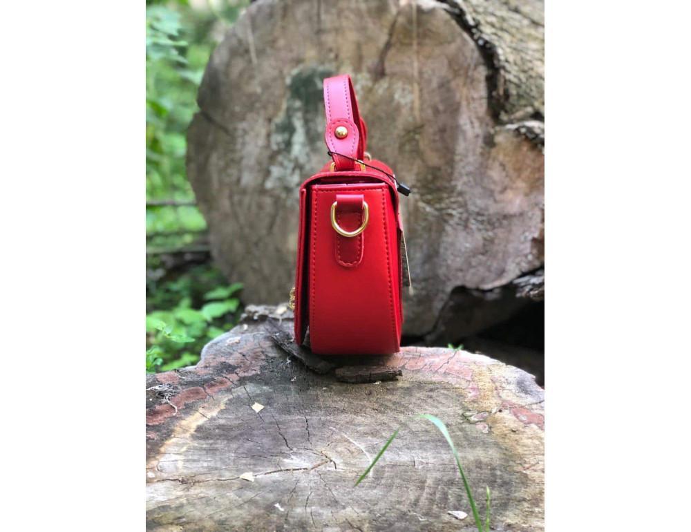 Женская сумка через плечо B. Elit 0914R красная - Фото № 4