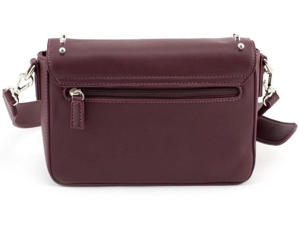 Женская прямоугольная сумка David Jones 5822-1T d.bordeaux бордовый - Фото № 2
