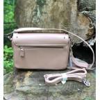 Женская прямоугольная сумка David Jones 5822-1T Pink пудровая - Фото № 102