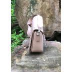 Женская прямоугольная сумка David Jones 5822-1T Pink пудровая - Фото № 103