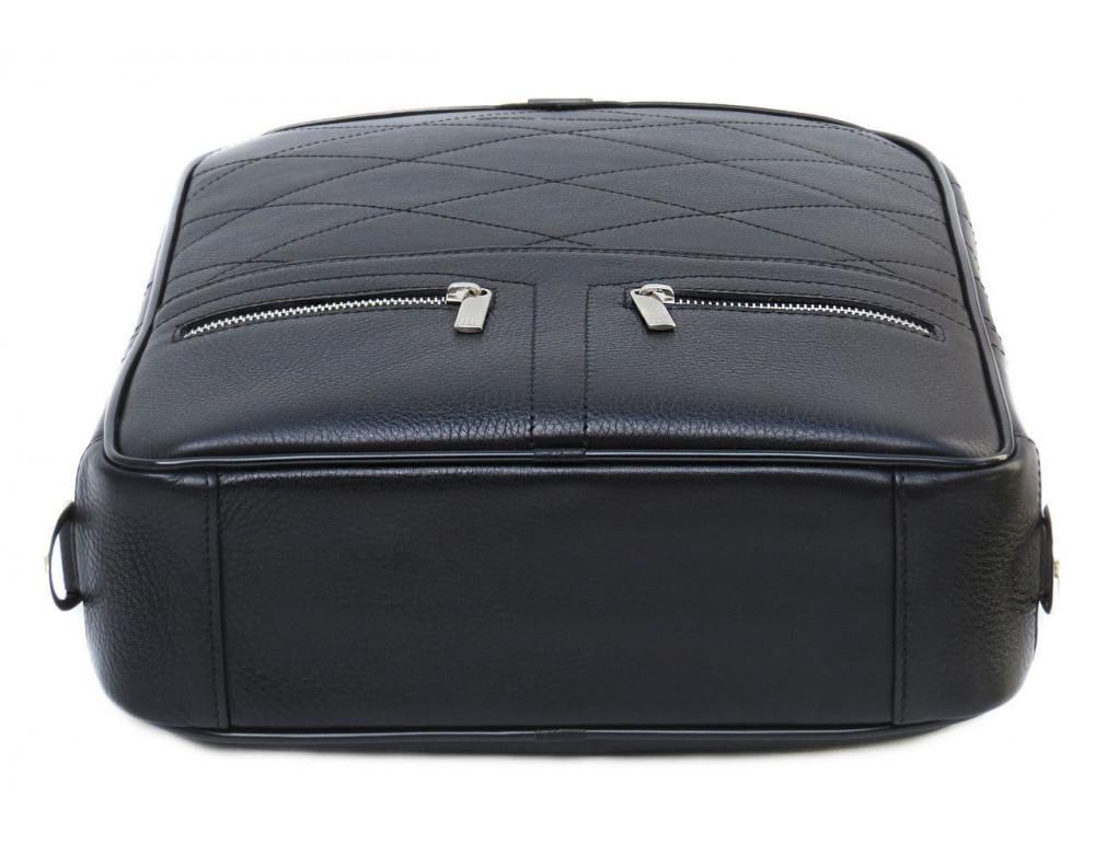 Кожаный рюкзак Black Diamond bd15a чёрный - Фото № 3