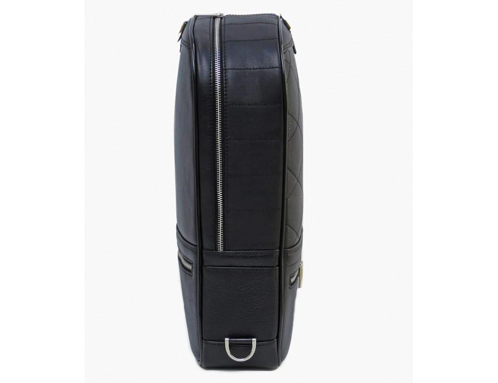 Кожаный рюкзак Black Diamond bd15a чёрный - Фото № 4
