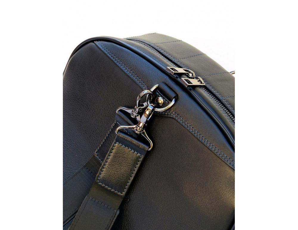 Кожаный рюкзак Black Diamond bd15ad черно-синий - Фото № 4