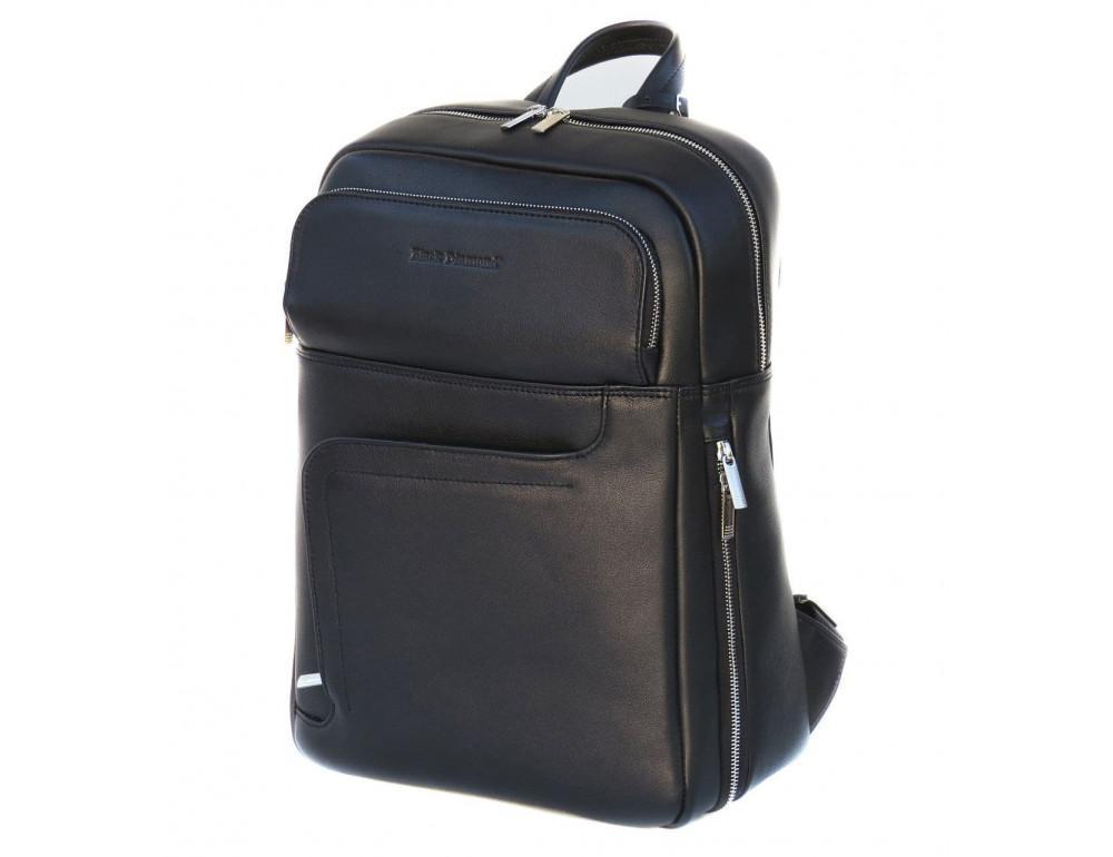 Шкіряний рюкзак Black Diamond BD22A чорний