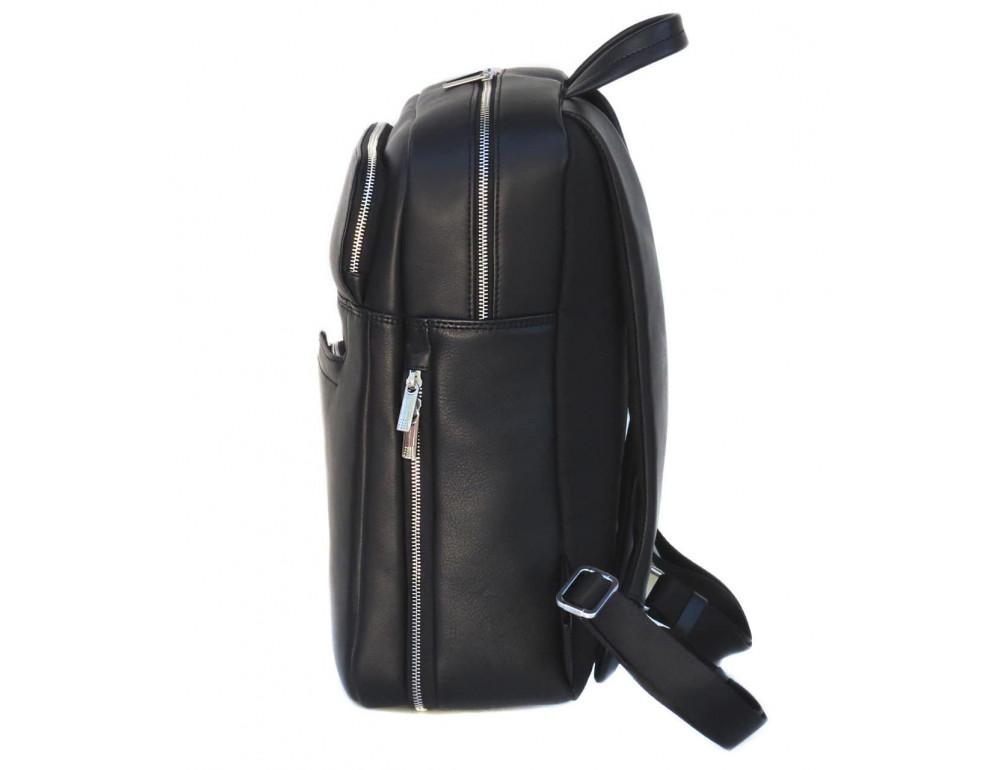 Кожаный рюкзак Black Diamond BD22A чёрный - Фото № 3