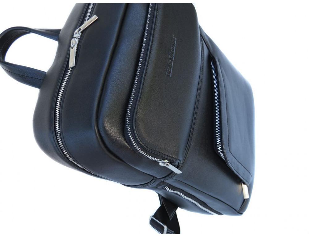 Кожаный рюкзак Black Diamond BD22A чёрный - Фото № 5