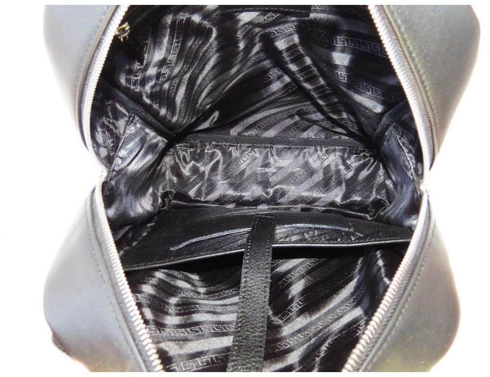 Кожаный рюкзак Black Diamond BD22A чёрный - Фото № 6