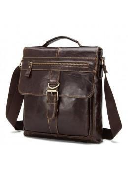 Мужская кожаная сумка-мессенджер Bexhill Bx1292C