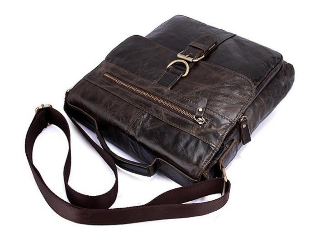 Мужская кожаная сумка-мессенджер Bexhill Bx1292C - Фото № 11