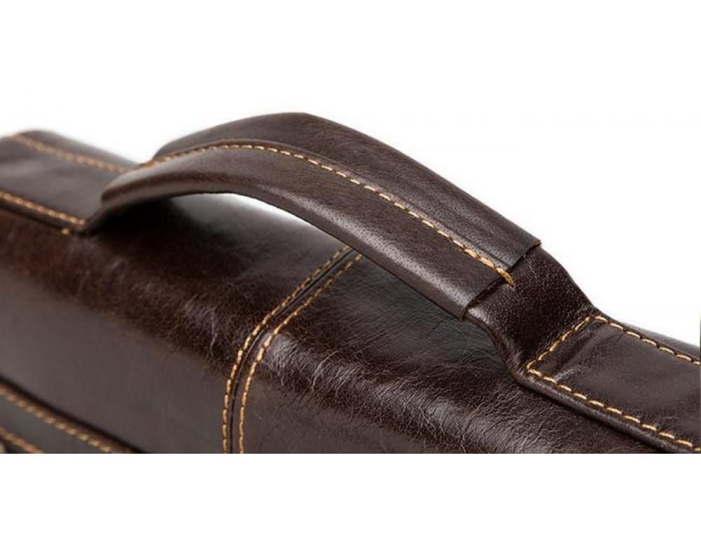 Мужская кожаная сумка-мессенджер Bexhill Bx1292C - Фото № 10