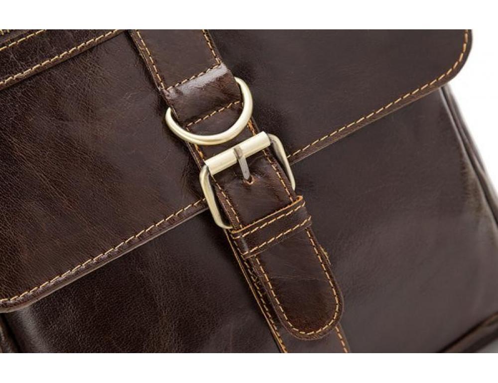 Мужская кожаная сумка-мессенджер Bexhill Bx1292C - Фото № 9